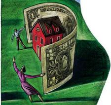 Why The Bailout Won't Work - Empty Foreclosed Home Inventory